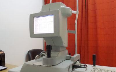 Estudio biométrico del ojo IOL Master